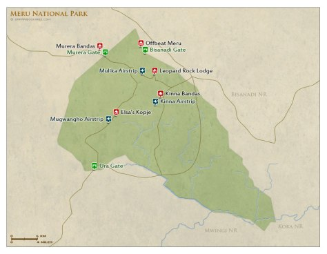 map-of-Meru-National-Park